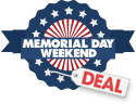 Memorial Day Weekend Deal